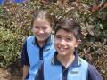 Captains - Nate Mitchell & Alice Harrigan